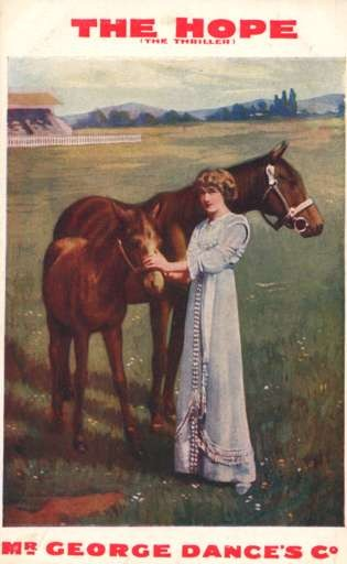 Lady Petting Colt Horse Advert Play