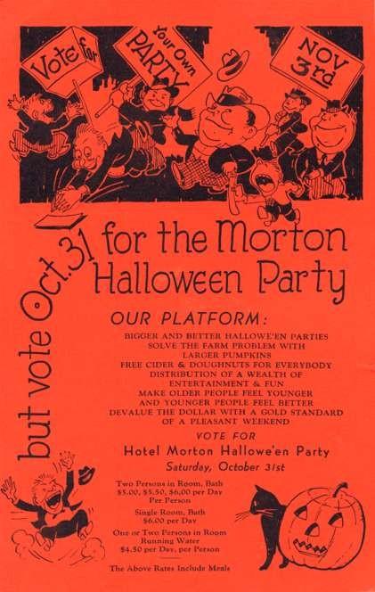 Vote for Morton Halloween Party