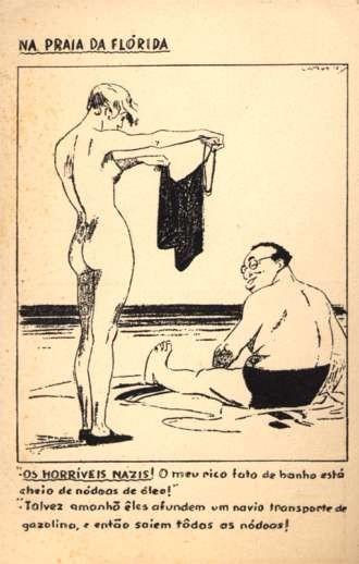 Nude & Fat Jew on Beach in Florida
