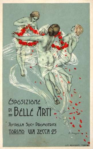 Dancing Nudes Art Exposition Italy