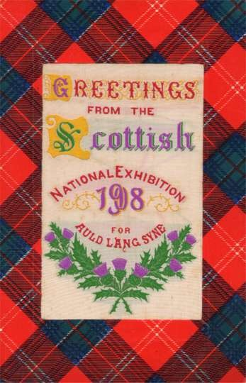 Woven Silk Scottish Exibition