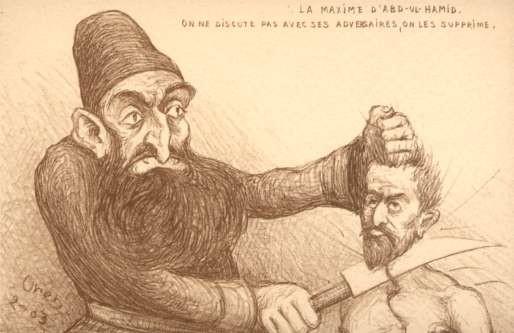 Turkish Abdul-Hamid Cutting Off Head