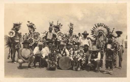 Texas Dressed Black Seminoles Real Photo