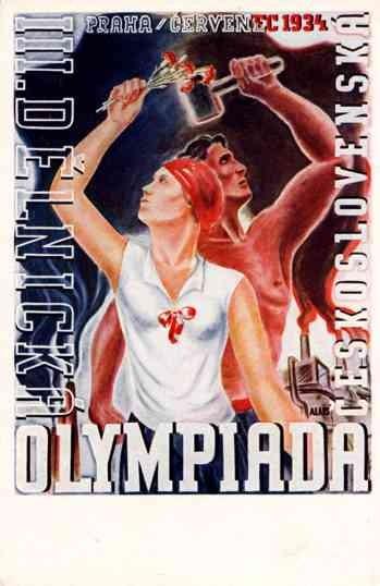 1934 Workers' Olympics Czechoslovakia