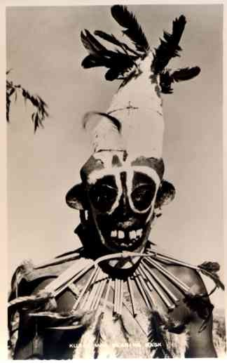 African Black Wearing Mask Real Photo