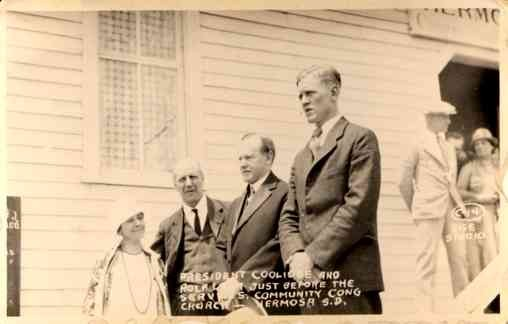 President Coolidge & Pastor RP