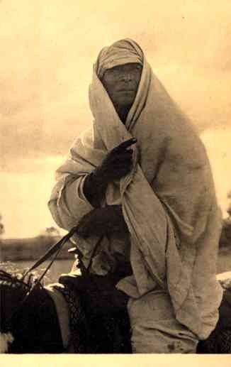 Arab of American Desert on Horse Gilpin