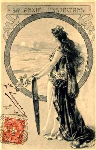 Italian Woman by Sea Polar Exploration