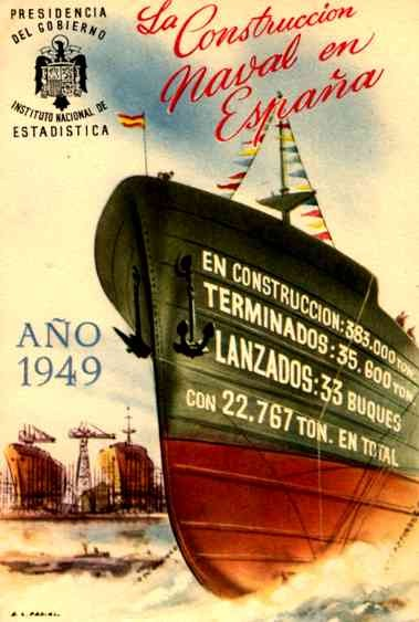 Costruction of Ships for Spain