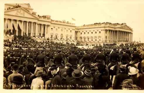 President Wilson's Inauguration RP