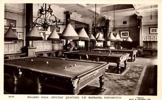 Billiard Room Officers' Quarters RP