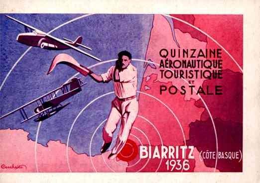 Aviation Sports Meet 1935 France.