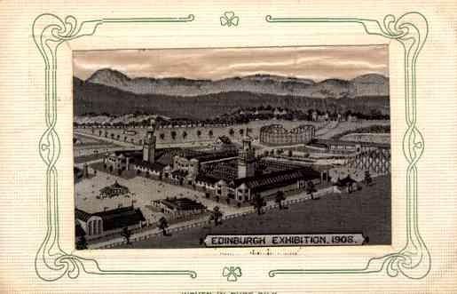 Woven Silk UK Edinburgh Exhibition 1908