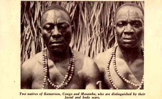 Tatooed African Blacks 1933 Chicago Expo