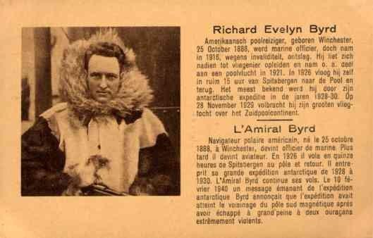 Arctic Explorer Byrd Holding Rifle