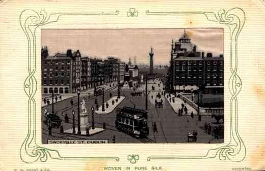 Woven Silk Ireland Dublin Street Trolley