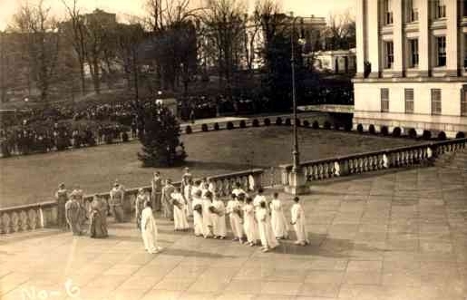 Performing Suffragists Presidential Inauguration
