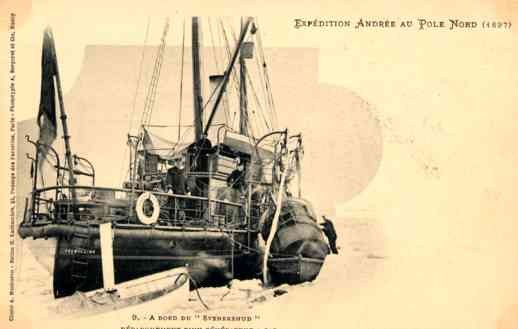 North Pole 1897 Expedition of Andree Ship