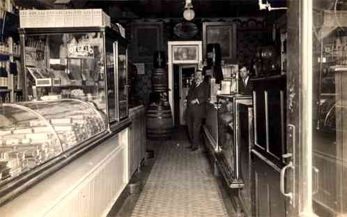 Cigar Store Salesmen Real Photo