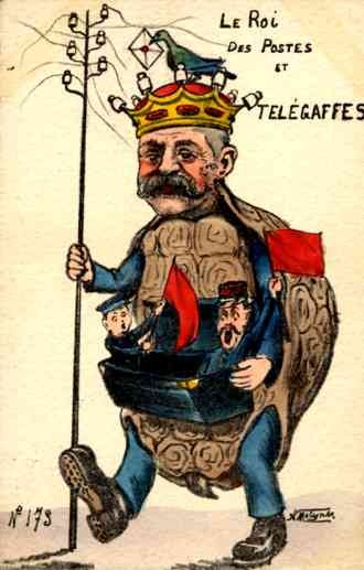 Telegraph King Turtle French