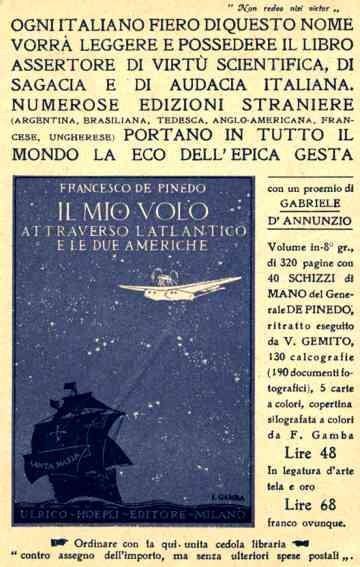 Airplane Atlantic Crossing Santa Maria Italian