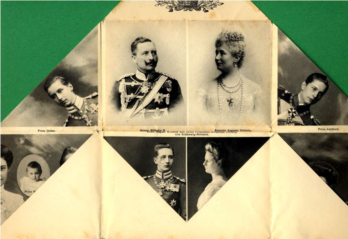 German Kaiser's Wilhelm Family Novelty
