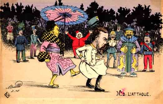 Russo-Japanese War Dance French Satire