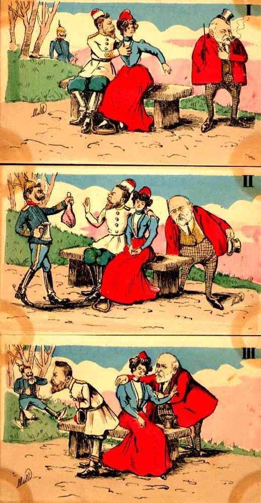 European Politics French Satire Set