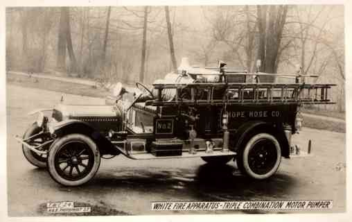 Fire Apparatus Truck Real Photo