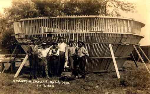 Builders of the Smallest Motor Drum RP