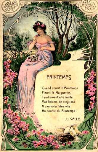 Lady Spring with the Flowers