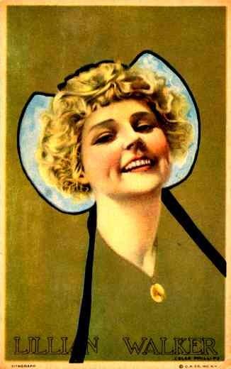 Phillips Portrait of Actress Lillian Walker