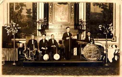 Jazz Band Real Photo