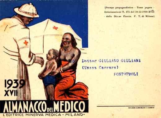 Doctor Helping Black Boy Italian