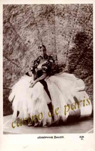 Dancer Josephine Baker Real Photo