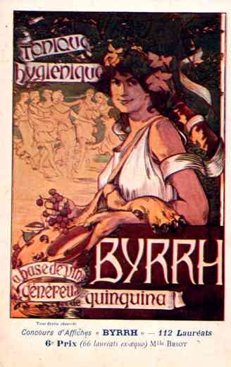 Advert Tonic Byrrh Dance Poster French