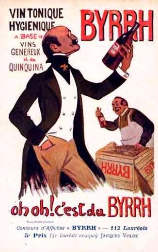 Advert Tonic Byrrh French Poster