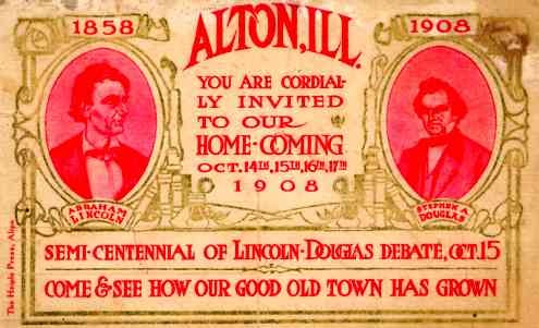 President Lincoln Douglas Debate IL