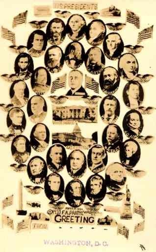 Presidents Portraits Washington DC RP