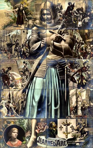 Joan of Arc Real Photo Installment Set - Installment Sets