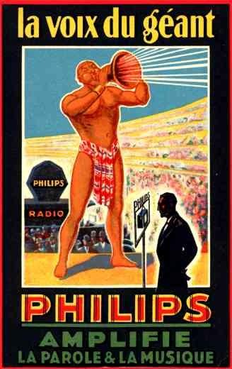 Advert Radio Philips French