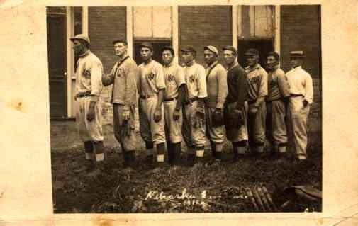 Baseball Indian Team 1911 Real Photo NE