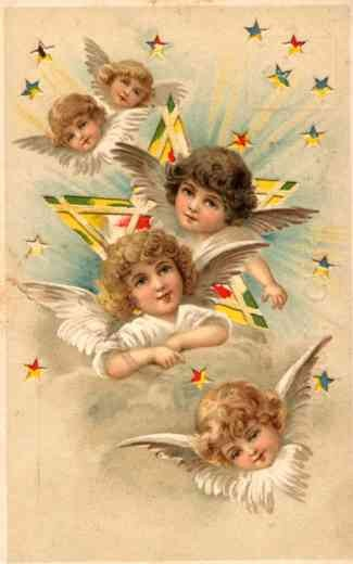 Angels Easter Hold-to-Light Novelty