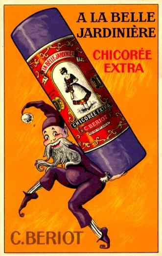 Advert Chicoree Gnome French