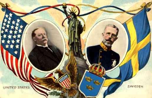 President Taft Swedish King SOL