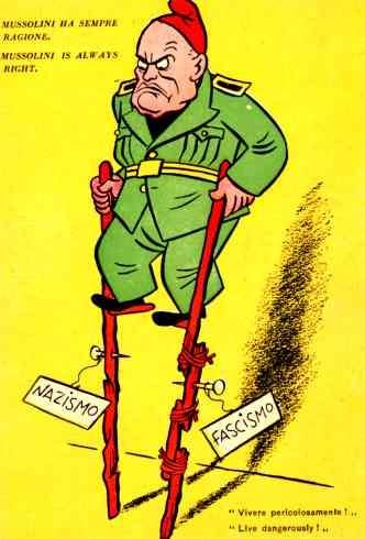 Mussolini WWII Italian