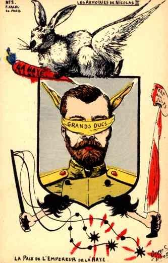 Russo-Japanese War Tsar Nicholas Rabbit