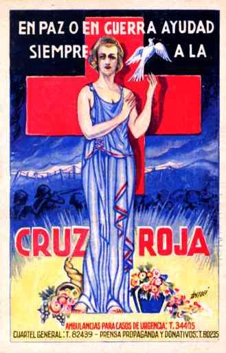 Red Cross Nurse Dove Spanish