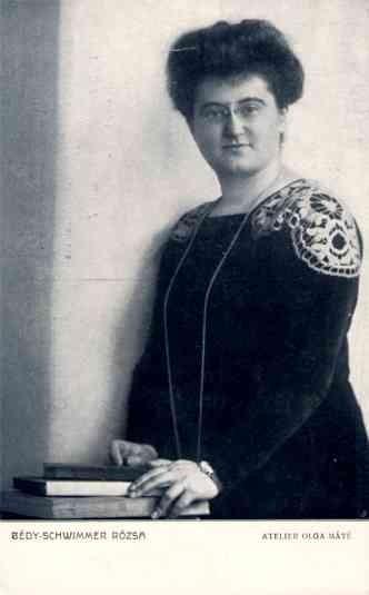 VII Congress 1913 Bedy-Schwimmer Hungarian