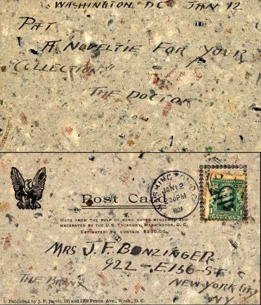 Macerated Money Used Washington